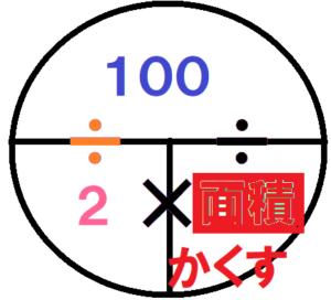 100÷2