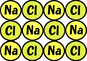 塩化ナトリウム拡大