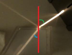 光の屈折の写真-2