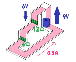 回路のイメージ図