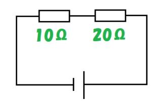直列回路の抵抗