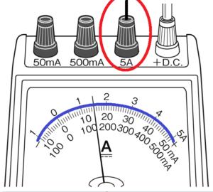 電流計5Aの場合