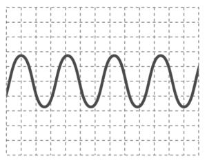 オシロスコープの波形1