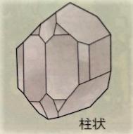 カンラン石の割れ方