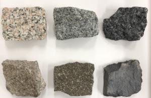 6種類の火成岩