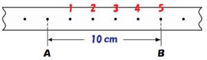 0.1秒間で10cm