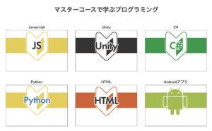 学べるプログラミング言語