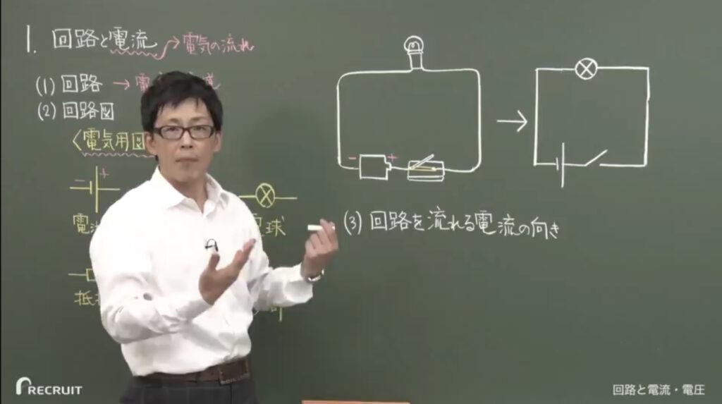 スタディサプリの理科の授業風景