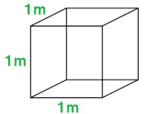 1m3の箱